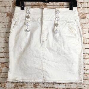 Anthropologie ETT Twa nautical Jean skirt
